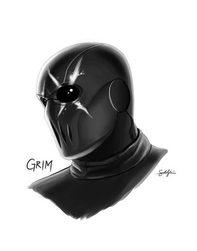 Grim Portrait
